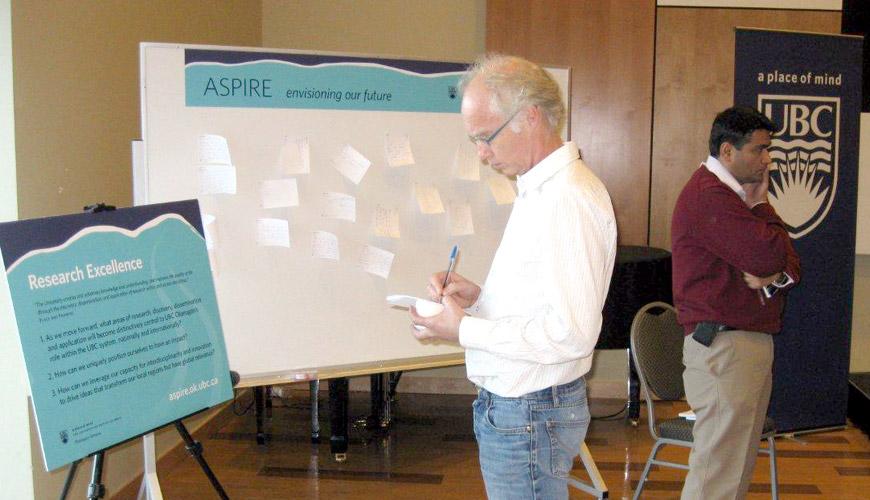 Aspire consultation at UBC Okanagan