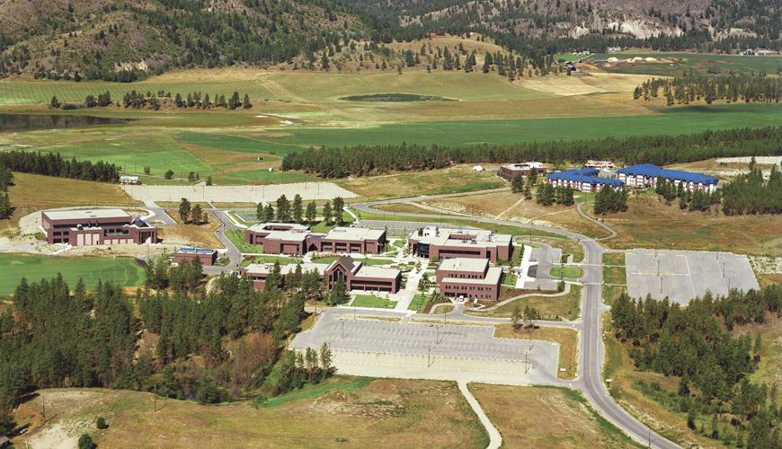 UBC Okanagan campus in 2004
