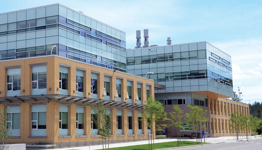 EME building on UBC Okanagan campus