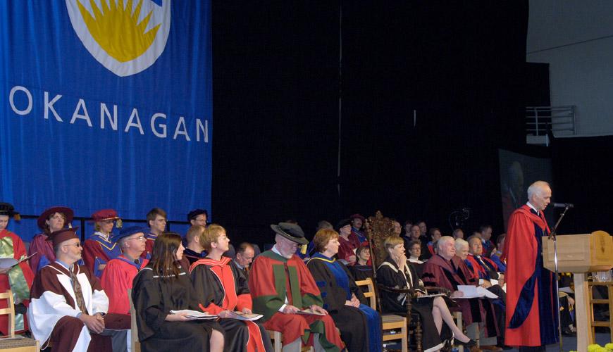 UBC Okanangan first graduating ceremony