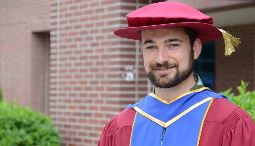 UBC Okanagan's first PhD
