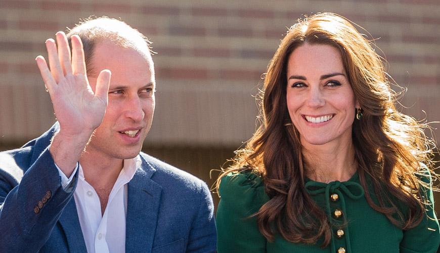 The Duke and Duchess of Cambridge visit UBC Okanagan campus.