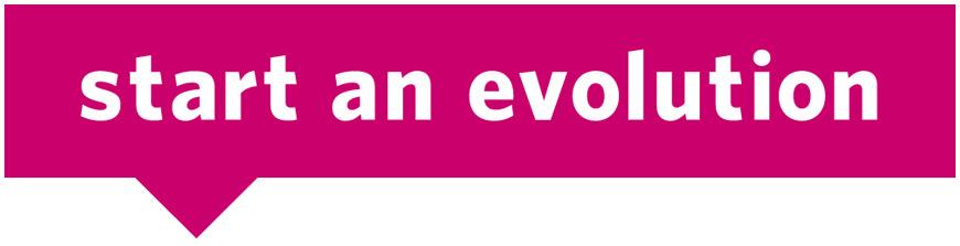 start an evolution logo.