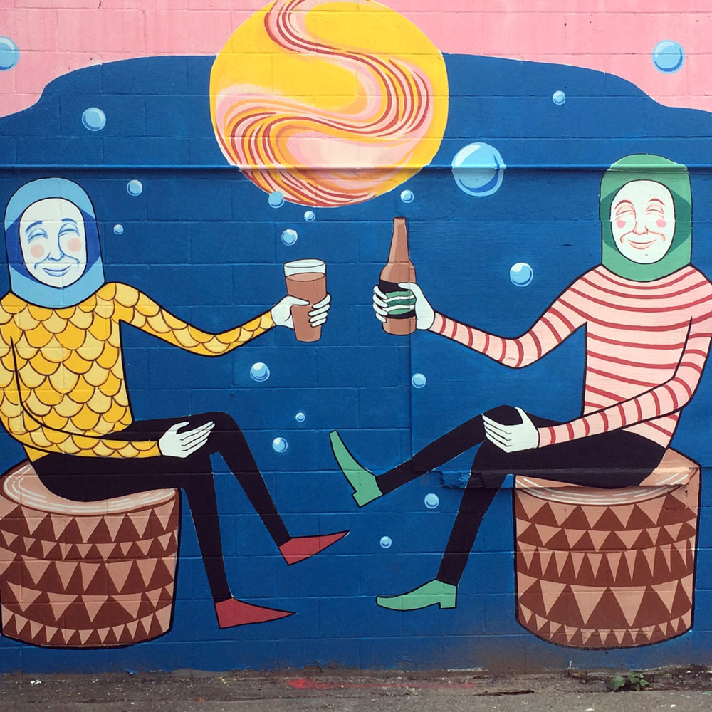Ben Arcega's mural