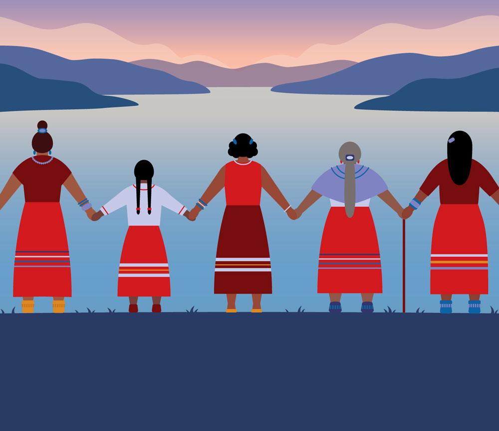 Design by Ashleigh Green for Missing and Murdered Indigenous Women