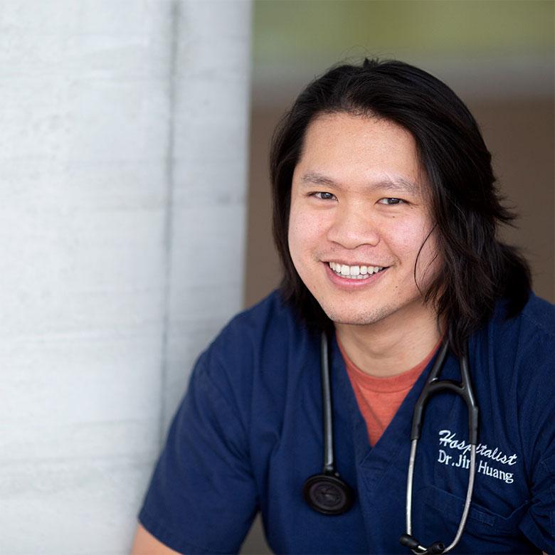 SMP hospitalist Jim Huang