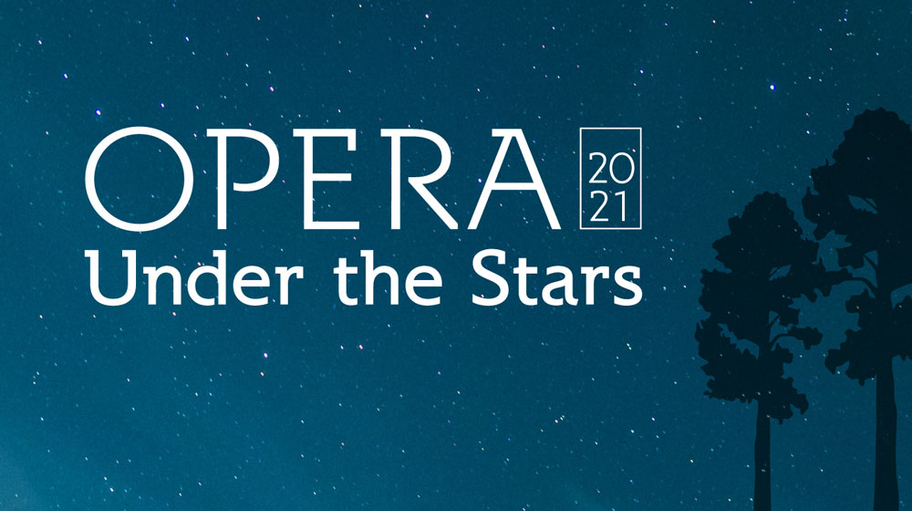 Opera Under the Stars graphic